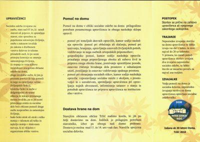 DPU, 2010, Pomoč na domu, Izdano ob 30 letnici Doma, predstavitvena zloženka 3b
