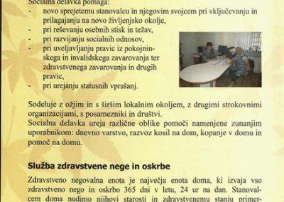 DPU, 2010, Predstavitev Doma Petra Uzarja Tržič, Izdano ob 30 letnici Doma, predstavitvena zloženka 3c
