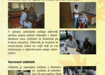 DPU, 2010, Predstavitev Doma Petra Uzarja Tržič, Izdano ob 30 letnici Doma, predstavitvena zloženka 3d