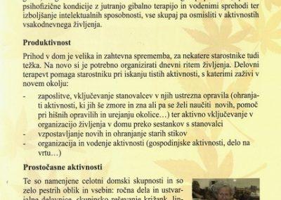 DPU, 2010, Predstavitev Doma Petra Uzarja Tržič, Izdano ob 30 letnici Doma, predstavitvena zloženka 3f