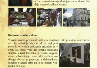 DPU, 2010, Predstavitev Doma Petra Uzarja Tržič, Izdano ob 30 letnici Doma, predstavitvena zloženka 3g
