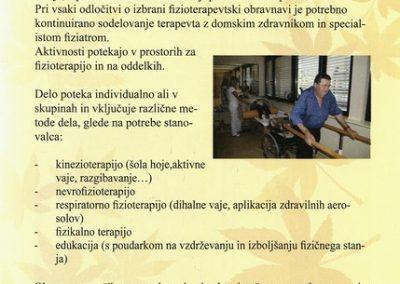 DPU, 2010, Predstavitev Doma Petra Uzarja Tržič, Izdano ob 30 letnici Doma, predstavitvena zloženka 3h